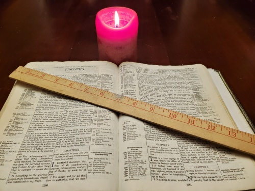 Measure by the Bible