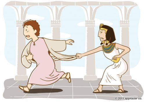 Joseph Fleeing Temptation