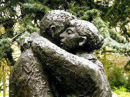 hugged and forgiven